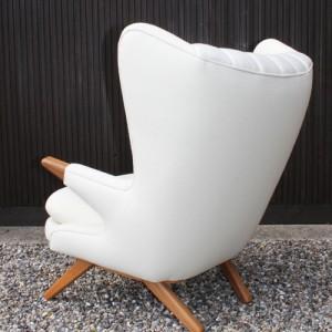 lounge - kontorindretning – Bamse- laenestol-hvid