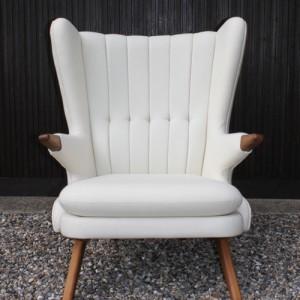 lounge - Bamse– loungesaet - laenestol-hvid