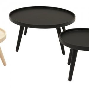 Sofabord – lounge – Alma- indretning-sort