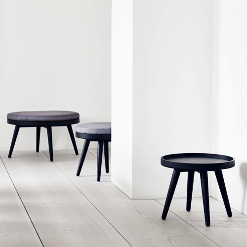 Alma – lounge – kontor - indretning-sort