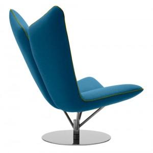 lounge - kontorindretning – Angel - laenestol-blaa