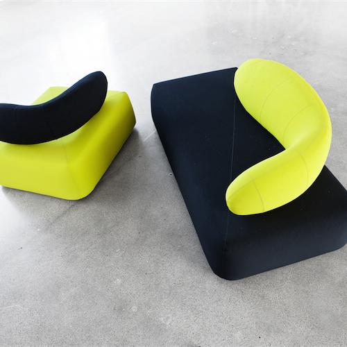Chat-Modulsofa - lounge - kontorindretning – loungesaet