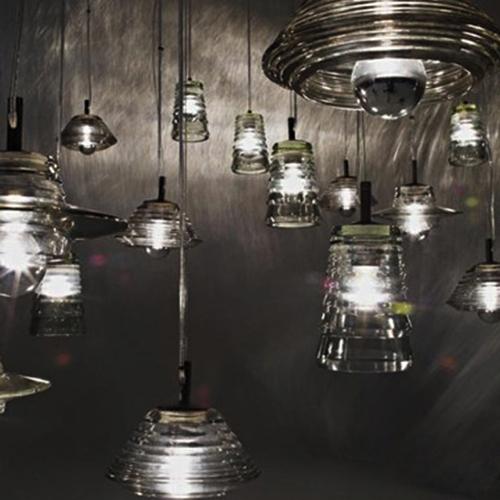 Lamper -pendel - Pressed – belysning-glas