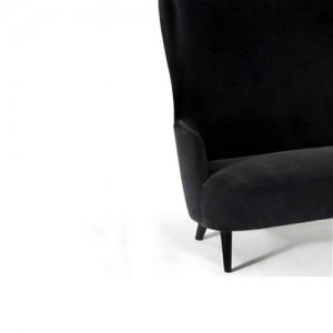 Wingback-lounge - kontorindretning – loungesaet – laenestol
