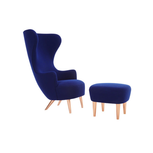 Wingback - kontorindretning – loungesaet – laenestol