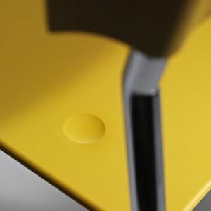 Pure – kontorindretning -konferencestole-gul