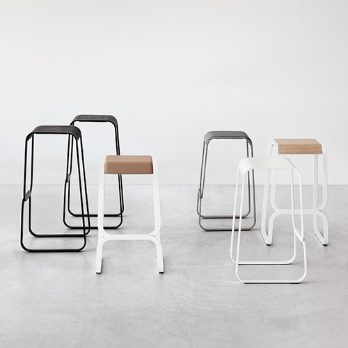 Barstol – hoej stol – design - Continuum