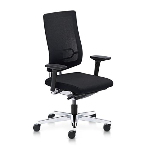 Kontorstole - arbejdsstol - Black– ergonomi