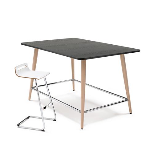 Mastermind-Barbord – højbord - Moedebord-High-Desk