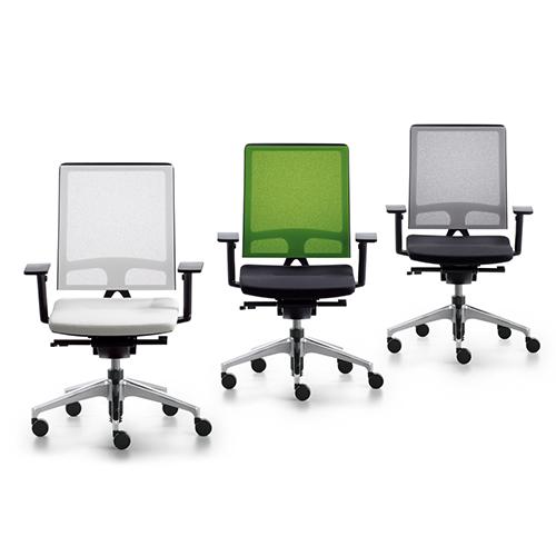 Open - arbejdsstol - kontorstol - ergonomi