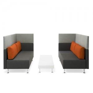 Sopha-lounge - kontorindretning – loungesaet – sofa