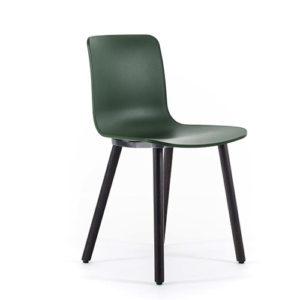 Vitra - HAL - Wood - Moedestole - Kontormoebler - Kantinestole