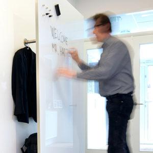 Chat-Board---Wardrobe---Glastavler---Garderobe---Kontortilbehoer