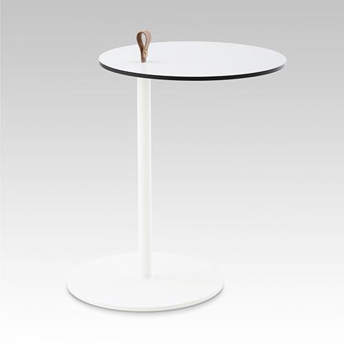 Howe---Strap---Cafebord---Rundt---Bord---Kontormoebler