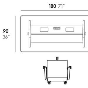 Vitra - Joyn - Skrivebord - Computerbord - Kontormoebler - Design