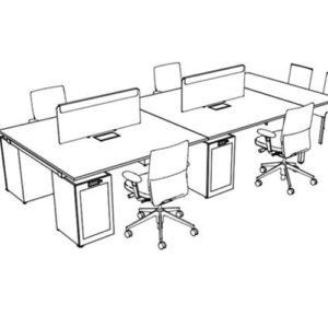 Vitra - WorKit - Skriveborde - Computerborde - Kontormoebler - Design